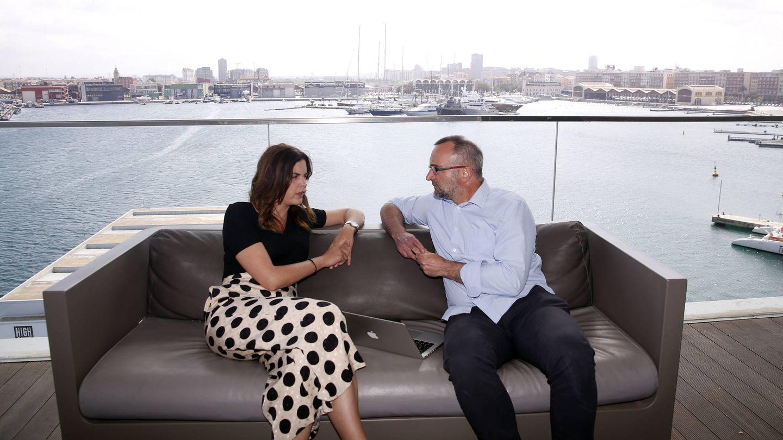 Entrevista con Sandra Gómez, candidata del PSOE en Valencia. (Alberto Sáiz)