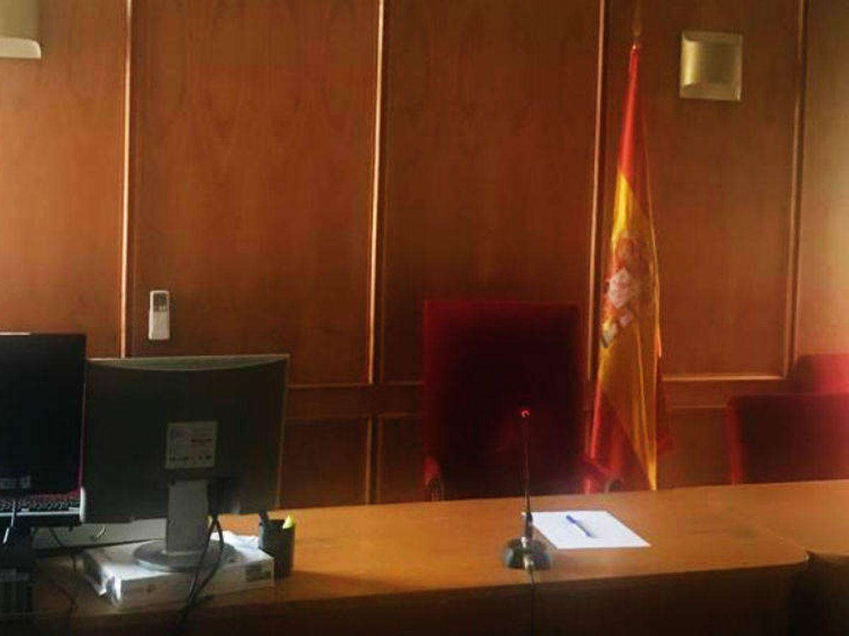 Foto: El Juzgado clausurado (EFE)