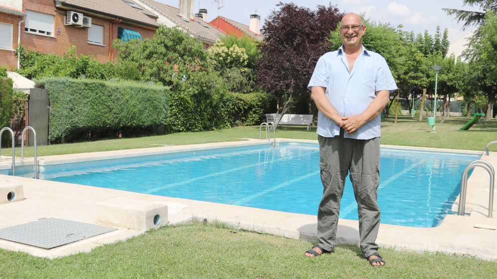 Foto: Juan Pablo García, desempleado en Pozuelo de Alarcón (A.V)