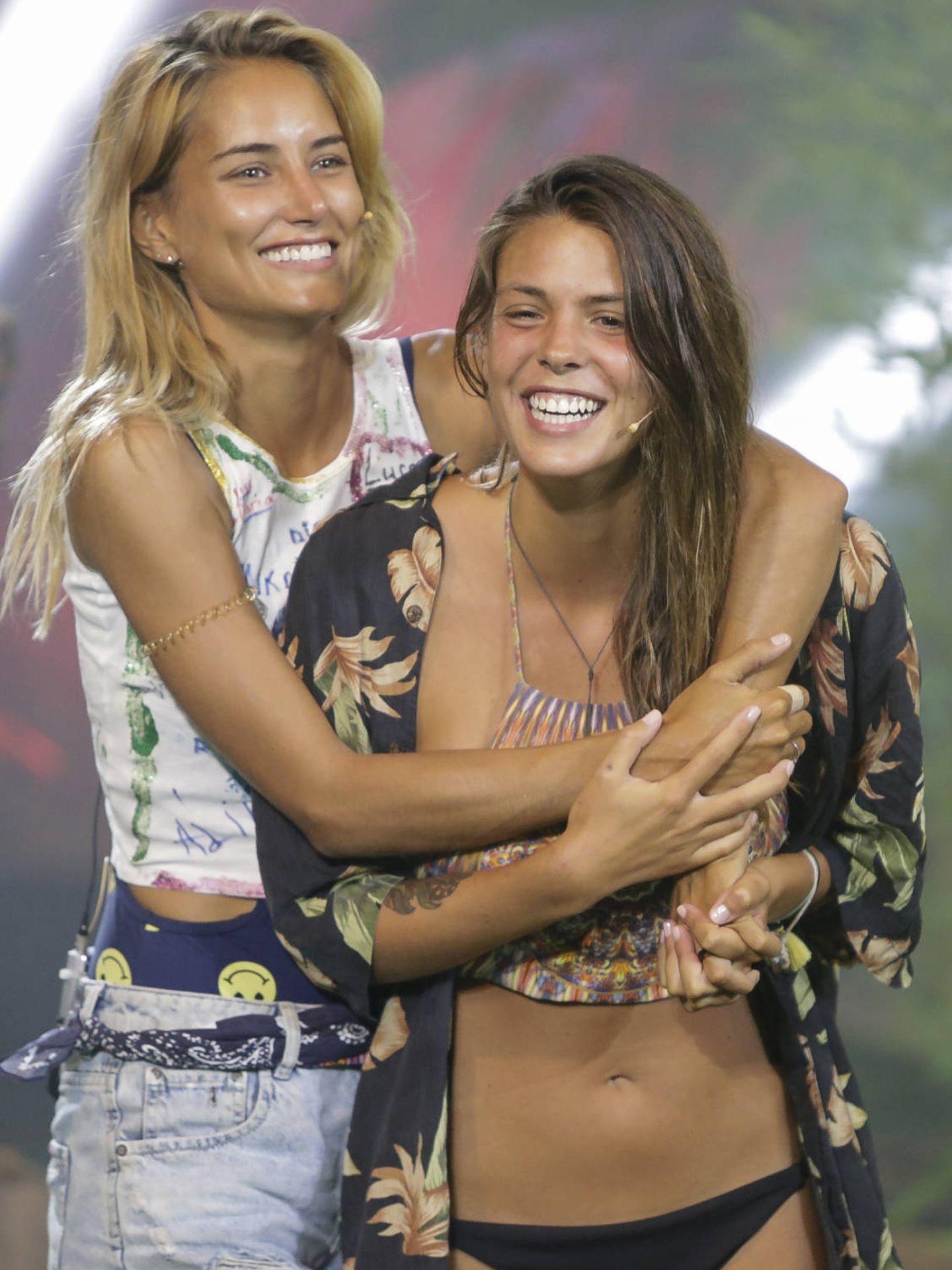 Alba y Laura, amigas para siempre. (Mediaset)