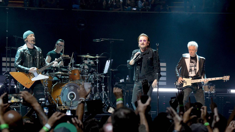 U2 en un concierto (Getty)