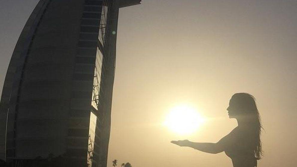 Tamara Gorro y Ezequiel Garay, románticas vacaciones en Dubái