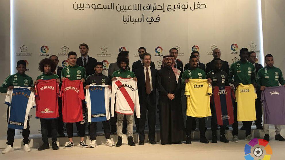 La extraña invasión de futbolistas de Arabia Saudí que agita el fútbol español