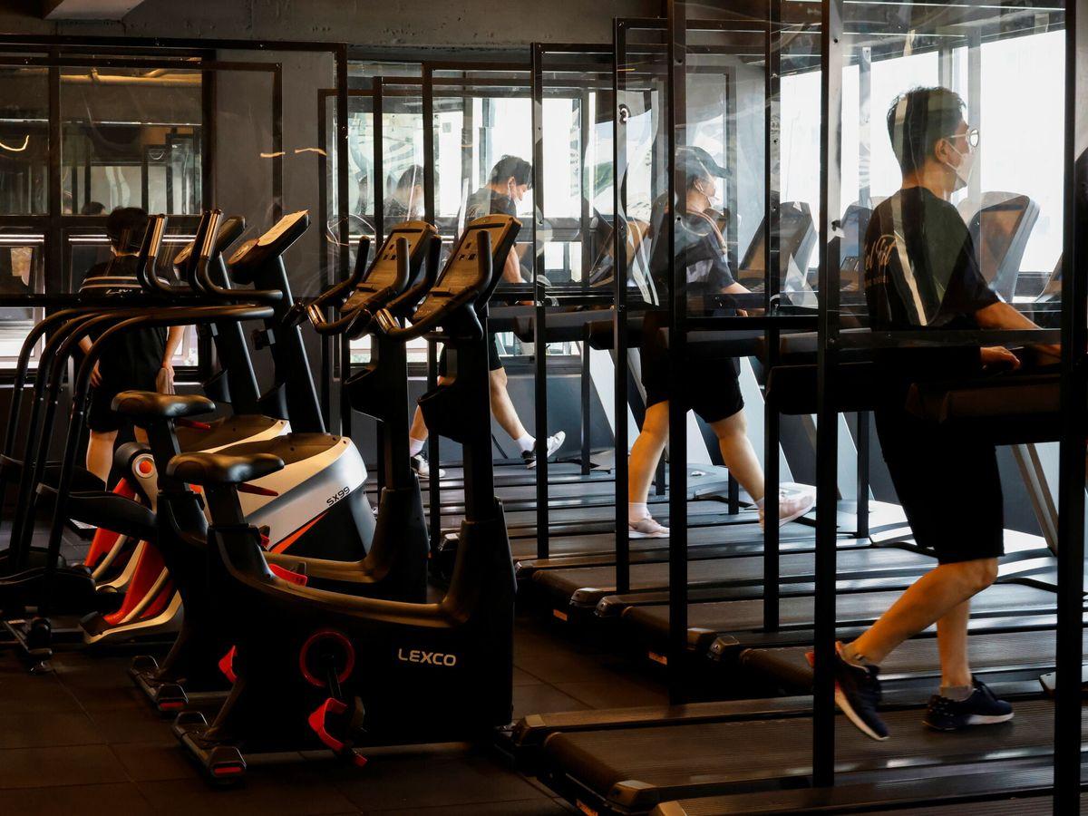 Foto: Los gimnasios de Seúl ya han implementado mejoras para prevenir la propagación del coronavirus (Reuters/Heo Ran)