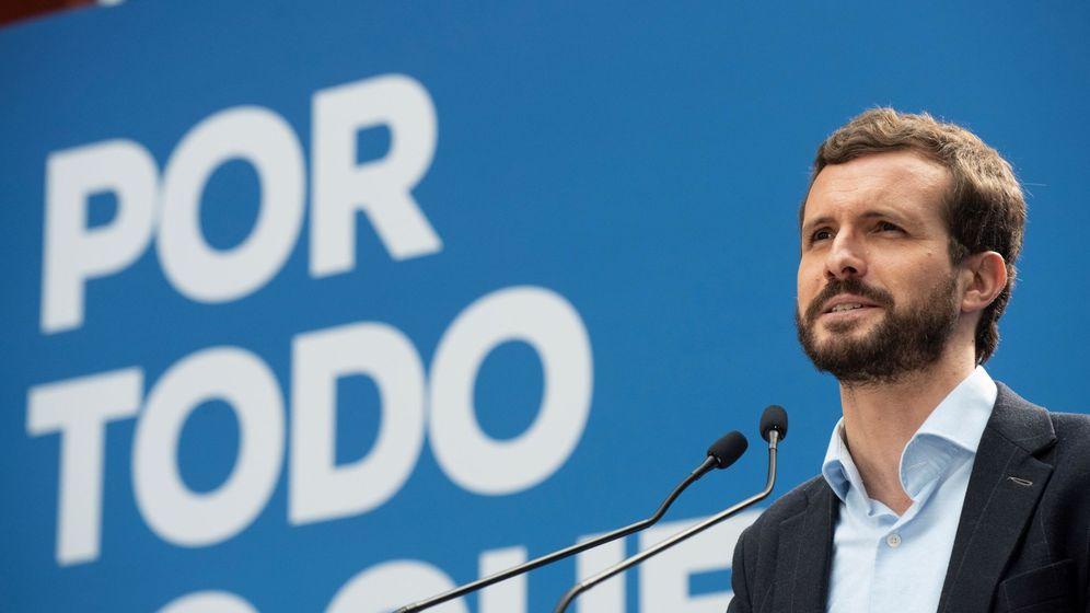 Foto: El candidato a la presidencia del Gobierno por parte del Partido Popular Pablo Casado (EFE)