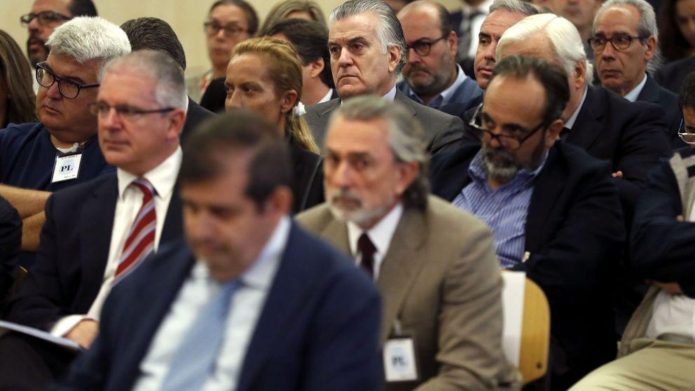 Comienza el juicio de la trama Gürtel: Bárcenas, Correa y otros acusados llegan a la AN