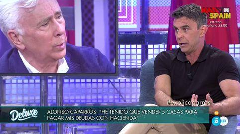 Alonso Caparrós airea los trapos sucios de su familia con Hacienda en el 'Deluxe'