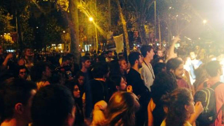 Estudiantes encerrados en la universidad anuncian una ocupación permanente