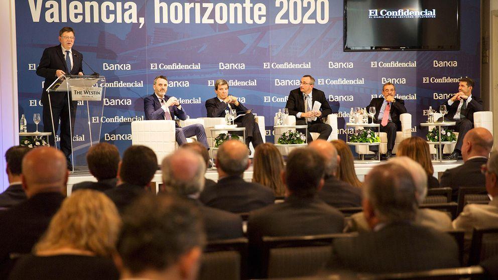Los empresarios piden infraestructuras para empujar el cambio en Valencia