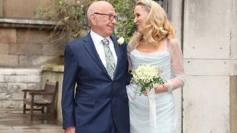 Rupert Murdoch y Jerry Hall disfrutan de su luna de miel en el sur de Francia
