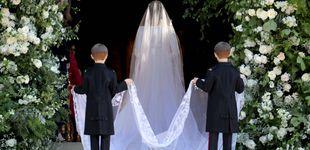 Post de Las novias Windsor: sus vestidos de boda desde Isabel II a Meghan Markle