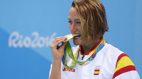 Mireia Belmonte, campeona olímpica de natación en los Juegos de Río