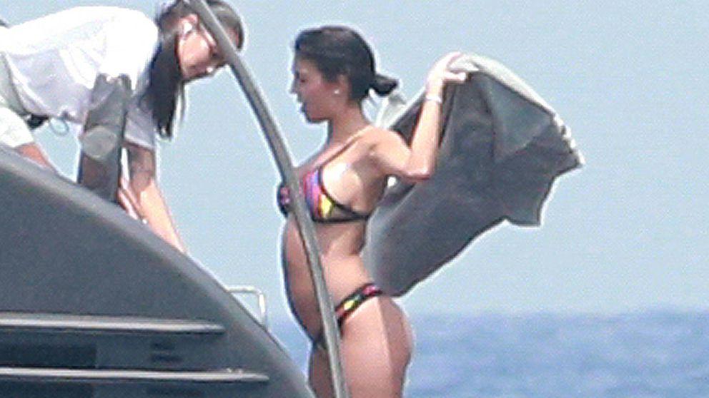 Confirmado: Georgina, la novia de Cristiano Ronaldo, está embarazada