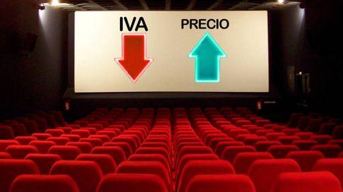 Los cines se han quedado un 58% de la rebaja del IVA para elevar sus beneficios