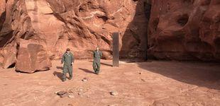 Post de  ¿Quién 'robó' el monolito del desierto de Utah? Un fotógrafo captura el momento