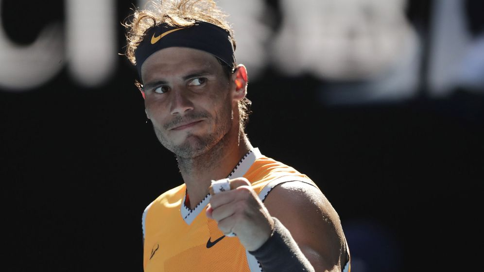 Foto: Rafa Nadal busca su segundo título en Australia. (EFE)