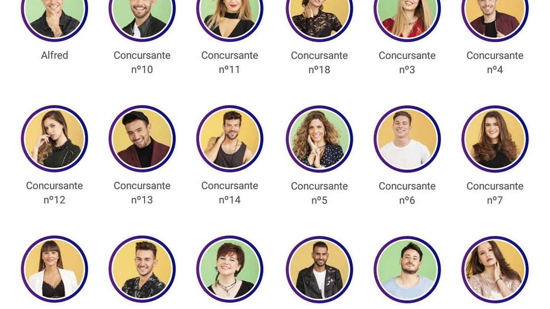 Todos los concursantes de 'OT 2017'. (RTVE)