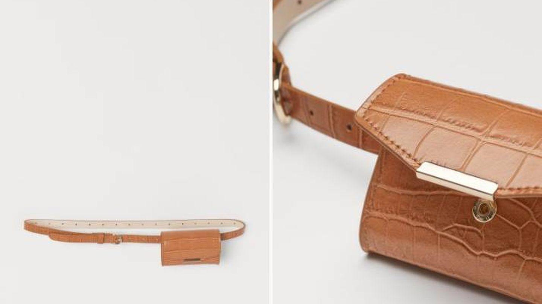 Bolso cinturón de HyM. (Cortesía)