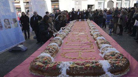Aldeas Infantiles reparte 10.000 raciones de roscón solidario en Madrid