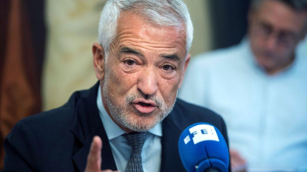 Foto: El expresidente de Ausbanc Luis Pineda. (EFE)