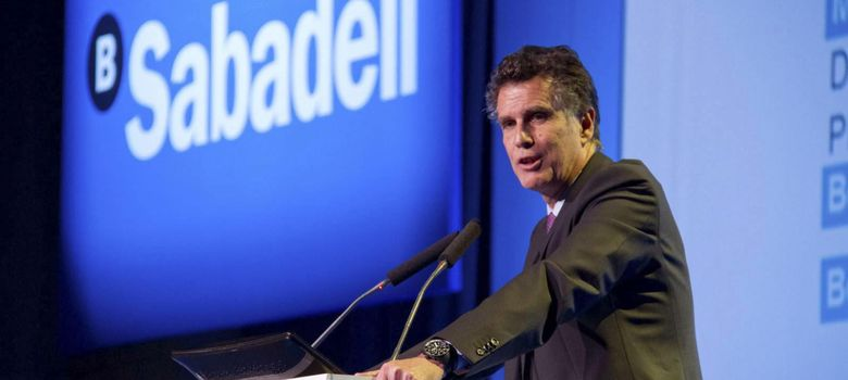Foto: El consejero delegado del Sabadell, Jaime Guardiola (Efe)