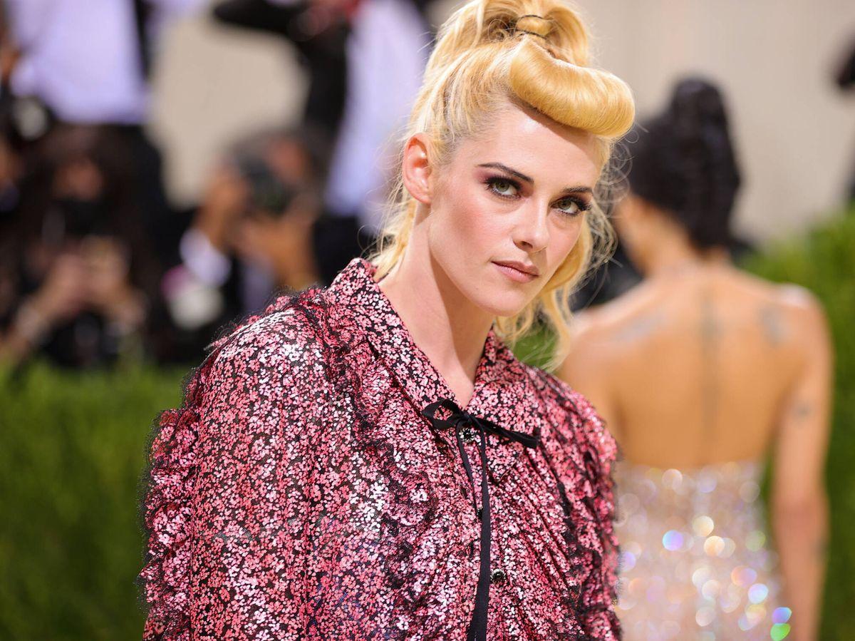 Foto: El rubio de Kristen Stewart se ha convertido en una controvertida coloración para los expertos. (Getty)