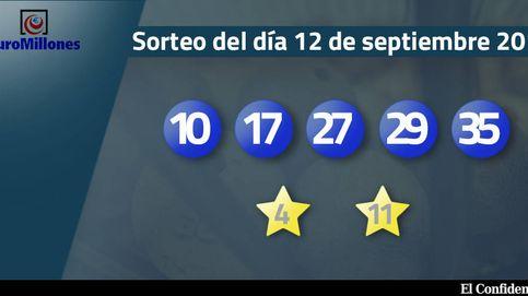 Resultados del sorteo del Euromillones del 12 de septiembre de 2017
