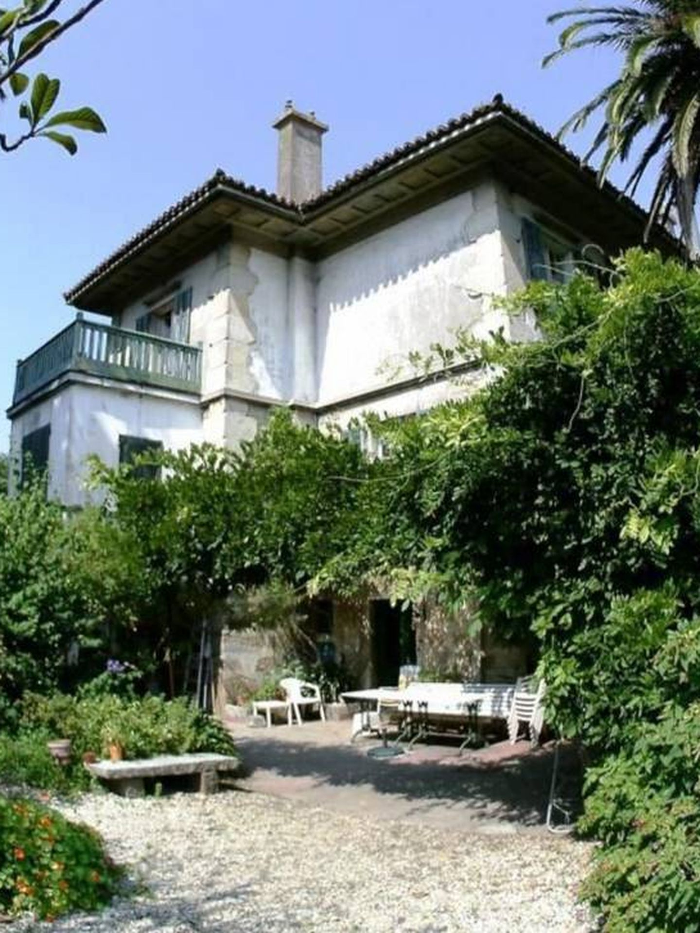 Los jardines del palacete. (Idealista)