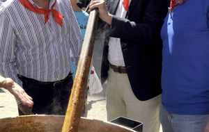 El alcalde de La Granja da un paso al frente para liderar el PSCyL