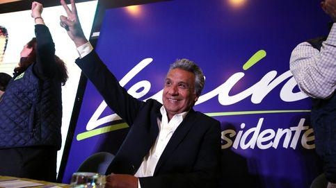 Lenín Moreno gana en la primera vuelta de las elecciones en Ecuador