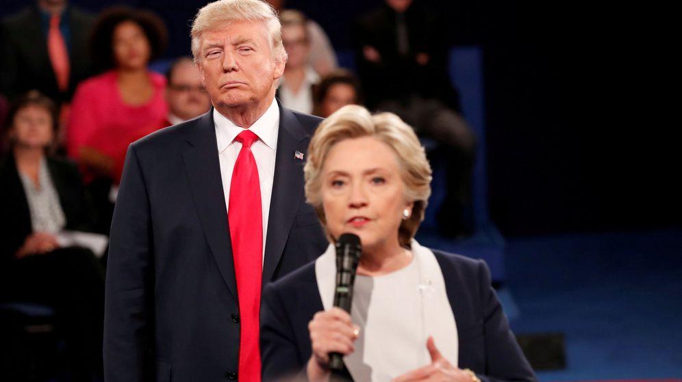 Foto: Hillary Clinton y Donald Trump. (Reuters)