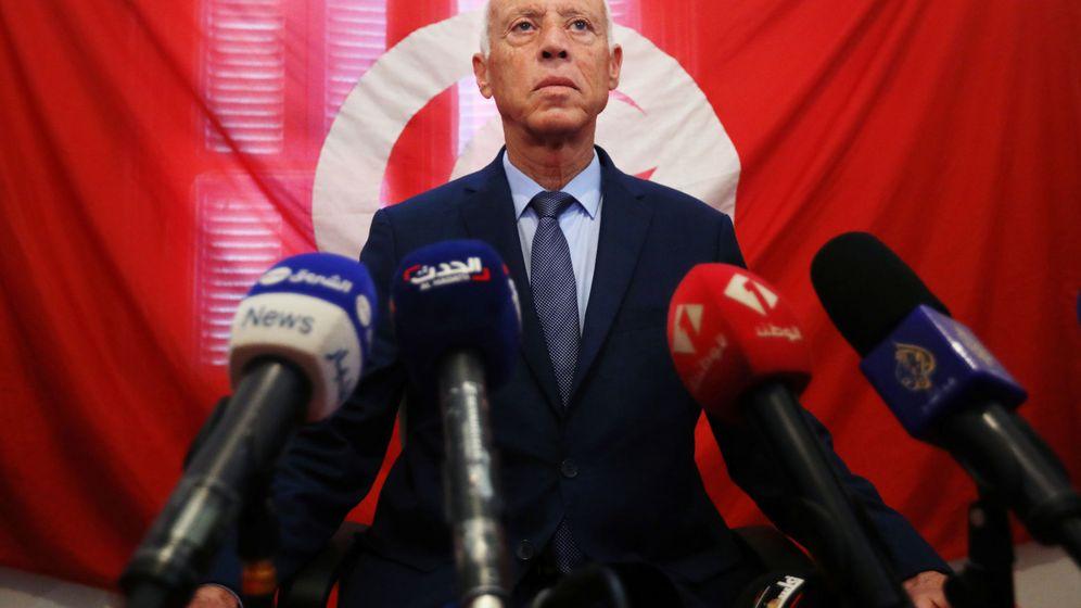 Foto: Kais Said, ganador de las presidenciales tunecinas. (Reuters)