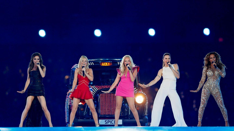 Las Spice Girls, en los Juegos Olímpicos de Londres en 2012. (Reuters)