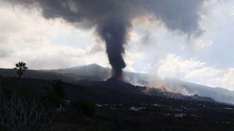 La nueva colada de lava en La Palma discurre por encima de la anterior y es más fluida y rápida
