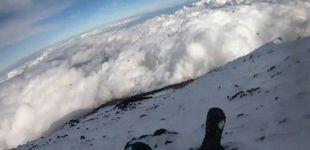 Post de Misterio en el Monte Fuji: un escalador desaparece tras grabar su caída en directo