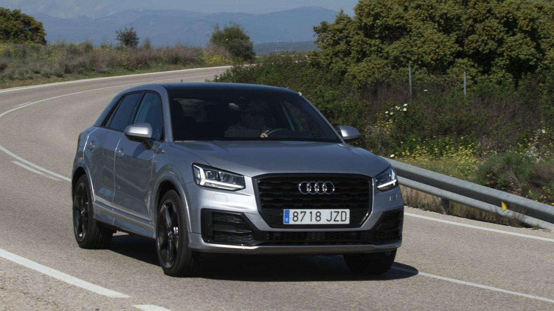 Frontal llamativo en el nuevo Audi Q2.