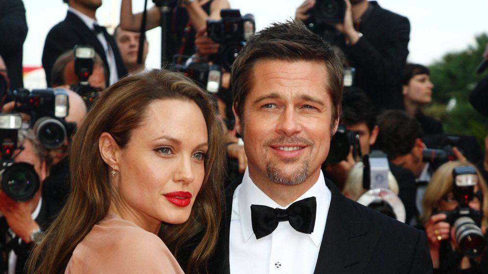 Foto:  Angelina Jolie y Brad Pitt, en una imagen de archivo. (Getty)
