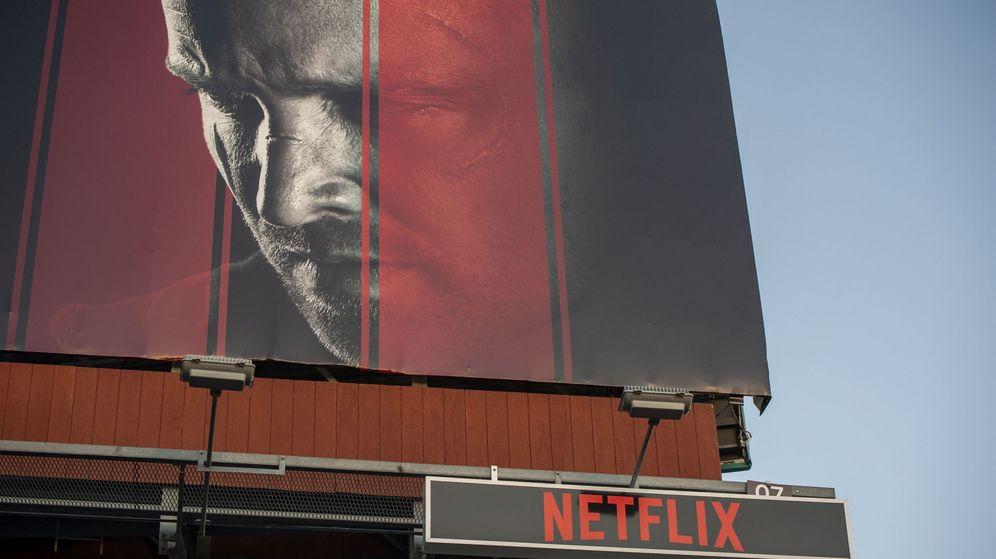Foto: Cartel publicitario de Netflix en Los Angeles. (Reuters)