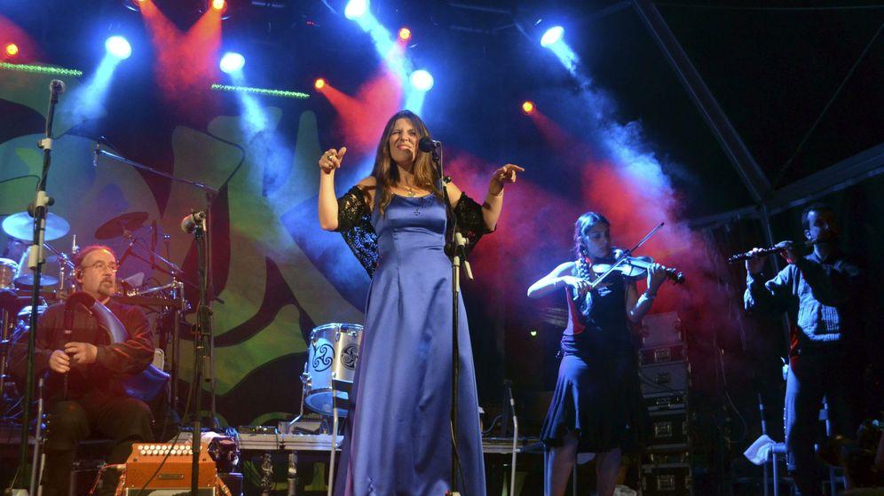 Foto: Concierto en Galicia de la banda 'folk' 'Luar na Lubre'. (EFE)