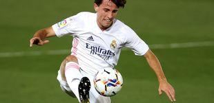 Post de Odriozola no levanta cabeza: lleva dos años perdidos en el Real Madrid