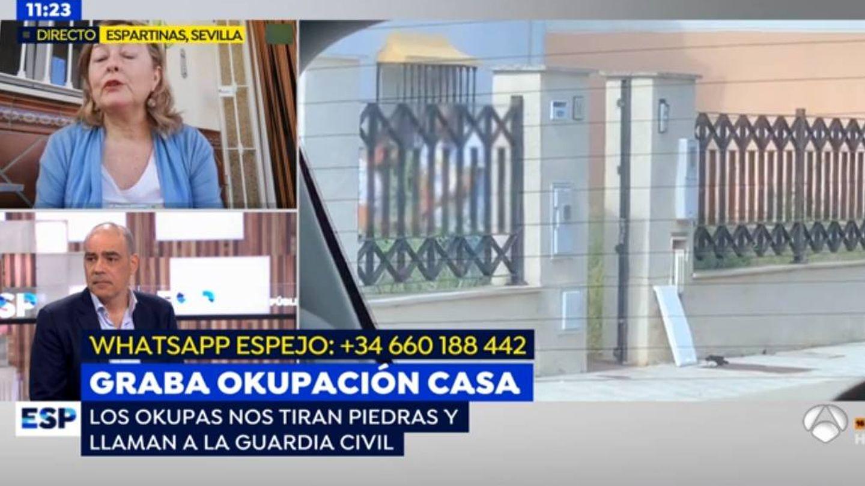 Teresa, en 'Espejo público'. (Antena 3)