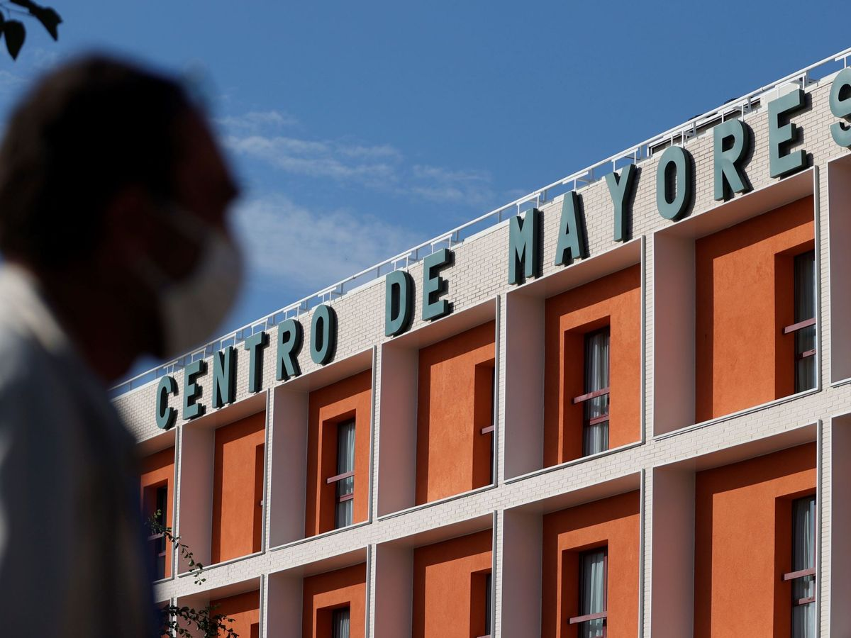 Foto: Posible sanción a una residencia de Valdemoro. (EFE)