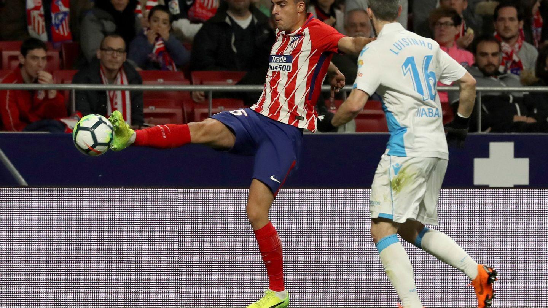 El canterano Carlos Isaac debutó en el Atlético de Madrid. (EFE)
