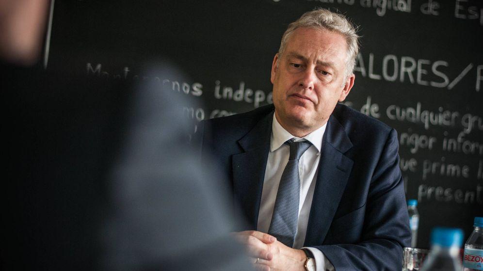 Foto: El embajador británico, Simon Manley. (Carmen Castellón)