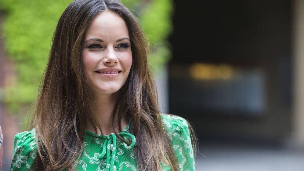 Foto: Sofía de Suecia durante el acto. (Getty Images)