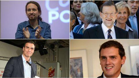 Rajoy, Pedro Sánchez, Rivera o Iglesias. ¿Qué candidato a la Moncloa eres?