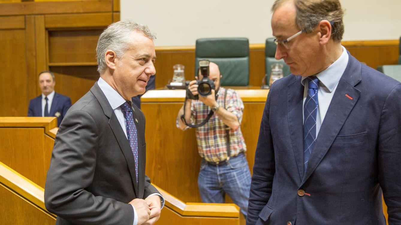 El Gobierno vasco enfría el adelanto electoral y Alfonso Alonso no confirma su candidatura