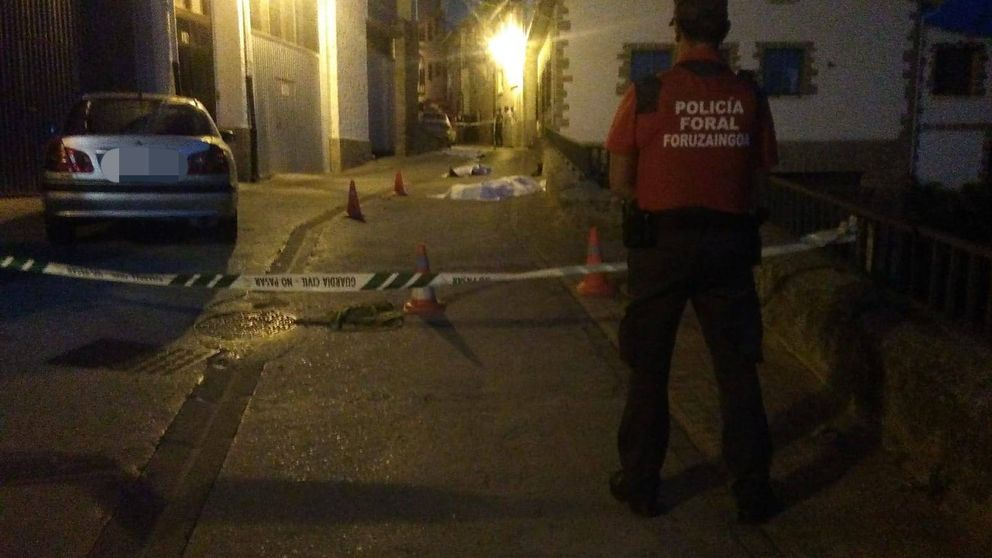 Un padre y sus dos hijos mueren en una tiroteo entre familias en Caseda (Navarra)