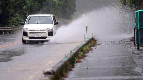 Un millón de evacuados por fuertes lluvias en el sur de Japón