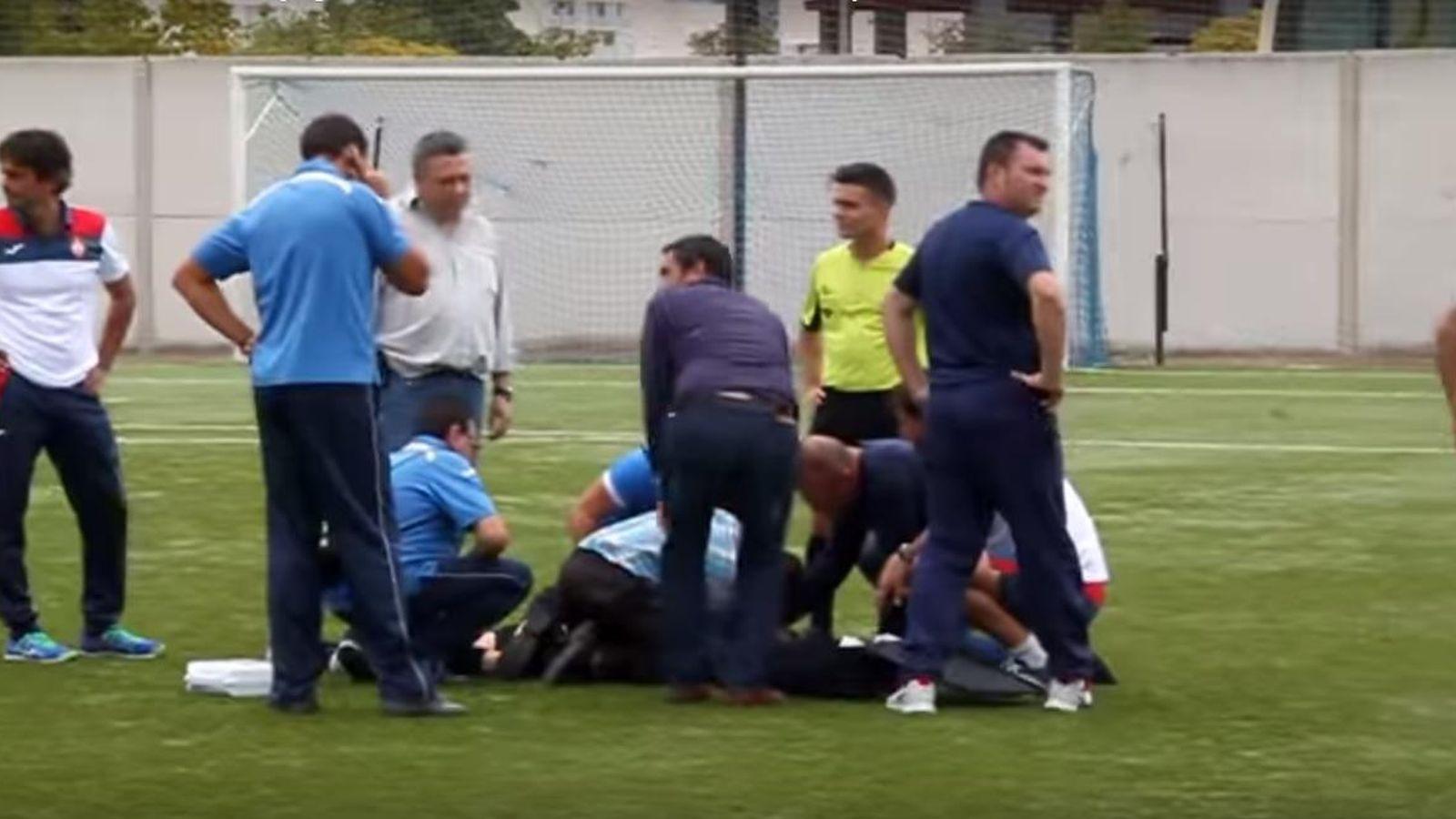 Resultado de imagen de axfisia futbol